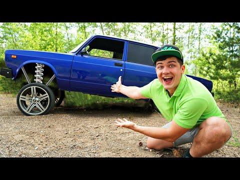 Купили на аукционе потерянный автомобиль в лесу за 300 тысяч рублей, а там...