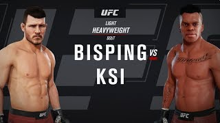 EA SPORTS UFC 3 | KSI VS Michael Bisping | PS4, Xbox