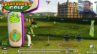 EVERYBODY´S GOLF (PS4)    FASE FINAL - Torneo Internacional en Imperial Garden