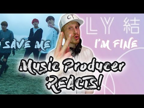 Music Producer Reacts to BTS - Save Me AND I'm Fine!!!