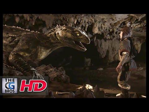 """**Award Winning** CGI & VFX Short Film:  """"Dragon's Scale""""  …"""