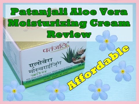 Patanjali Aloe Vera Moisturizing Cream Review | Indian Mom on Duty