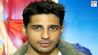 Sidharth Malhotra Interview - A Gentleman, Aiyaary & Bollywood Inspirations