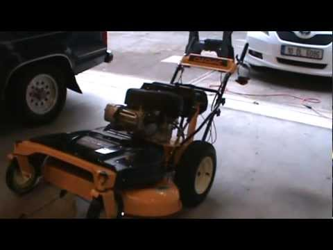 Blade Change And Sharpening On Cub Cadet 33 Wide Area