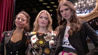 Kitty Spencer , Idina Moncreiffe, Mauro Icardi and more front row for the Dolce & Gabbana Show