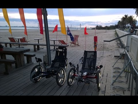 Brighton Baths To Studley Park Boathouse, Victoria Australia  - 70km Recumbent Trike Ride Tour