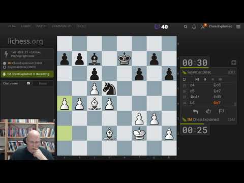 Friday Night Stream with Blitz and some Chess960/Fischer Random
