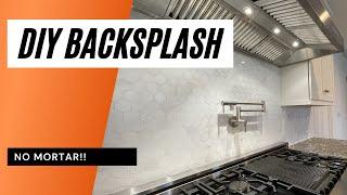 how to install a tile backsplash without mortar bondera tile mat set
