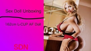 Sex Doll Unboxing/Review : Big Ass 162cm L Cup AF Doll Sex doll for cheap $989