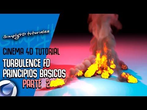 💥🔥TURBULENCE FD PARA CINEMA 4D - PRINCIPIOS BASICOS