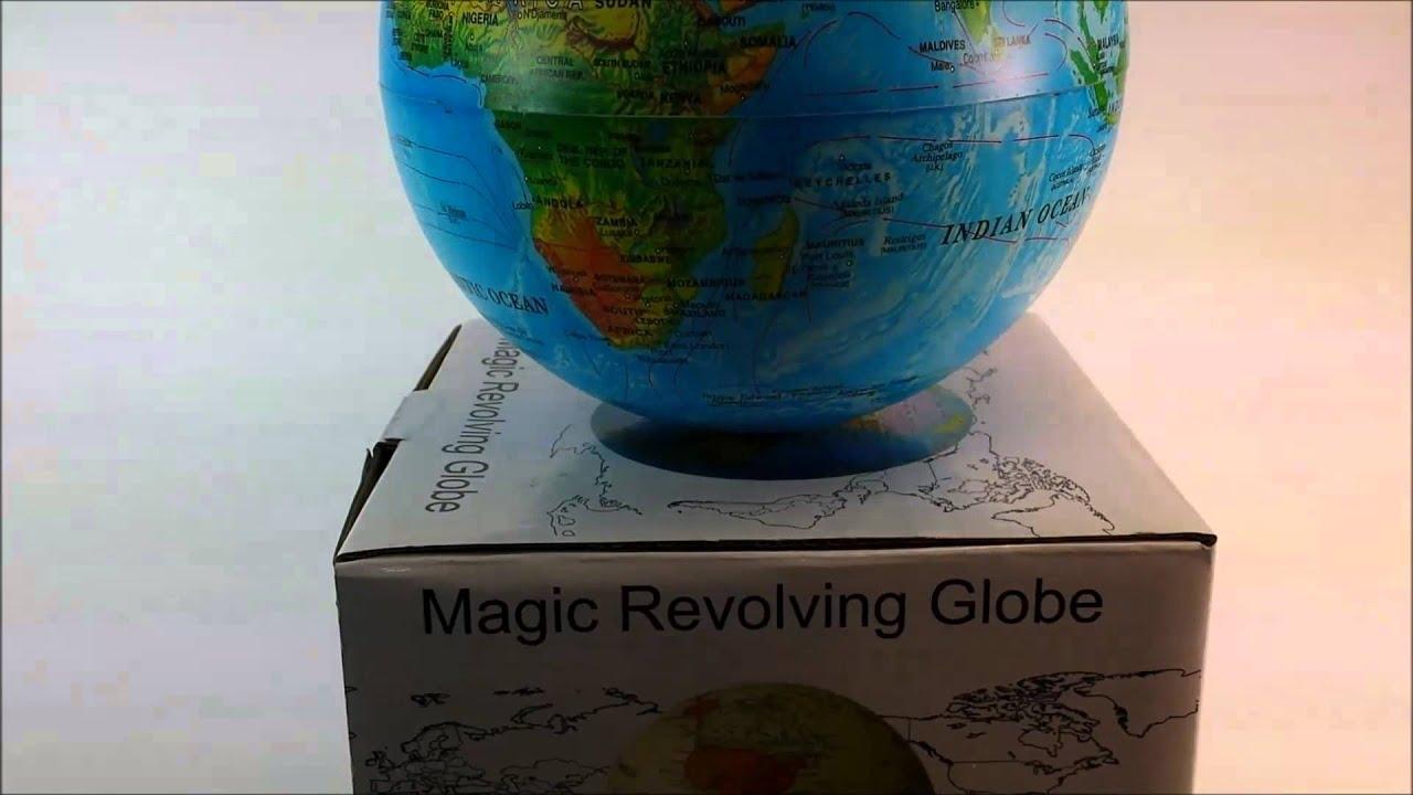 mysical and magic revolving world globe youtube