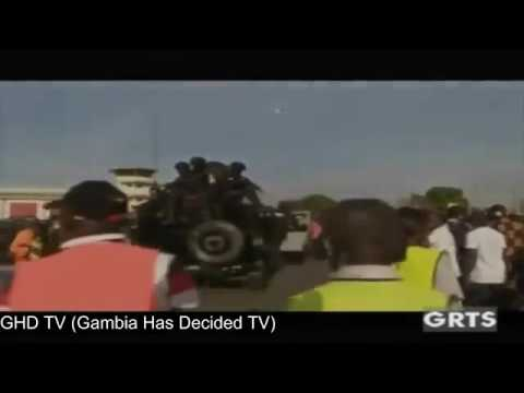 ARRIVAL of His Excellency President Adama Barrow in The Gambia (Part 2)