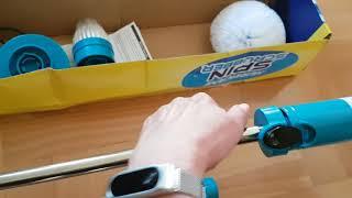Trådløs børste. HESSION Cordless Spin Mop Scrubber