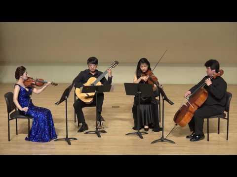02 N Paganini  Quartet for Violin, Viola, Violoncello and Guitar in a minor No 12