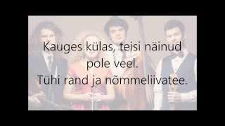 Curly Strings - Kauges Külas (Lyrics)