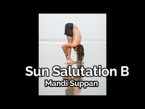 beginner yoga tutorial sun salutation b ashtanga yoga