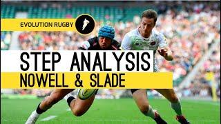 Evo Rugby Evade & Xcel Step Evasion Analysis - Jack Nowell & Henry Slade