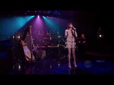 Florence and the Machine - Cosmic Love on Letterman Dec 16 2010