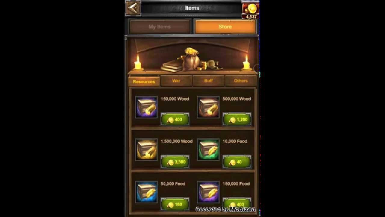 Clash of kings купить золото