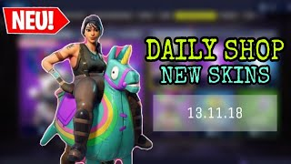 FORTNITE DAILY ITEM SHOP 13.11.18 | YEE-HAW SKIN IST DA!!