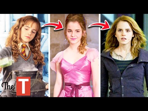 The Evolution Of Hermione From The Harry Potter Books To Movies