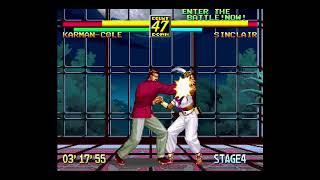 Art of Fighting Anthology: Art of Fighting 3; Arcade Mode Karman Cole