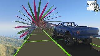 قراند 5 : باركور شاحنات ماب حلو🐸🐸 GTA Online Truck Parkour