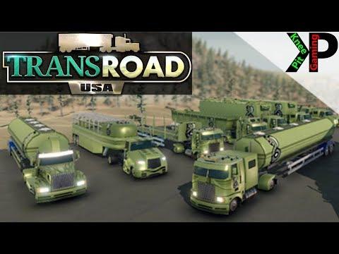 TransRoad:USA Lets Play #9 - Game Updates and Marketing - TransRoad:USA Gameplay