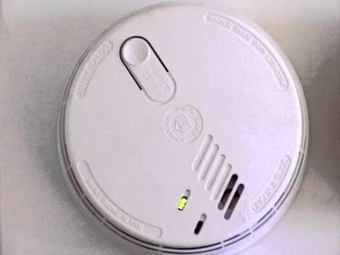 how to make smoke alarm stop chirping