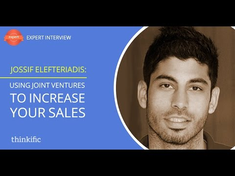 How To Increase Sales Using Joint Ventures | Interview with Jossif Elefteriadis