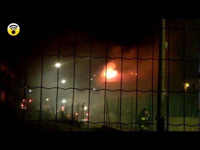 Loano brucia il tetto di una villa in frazione Verzi: video #1