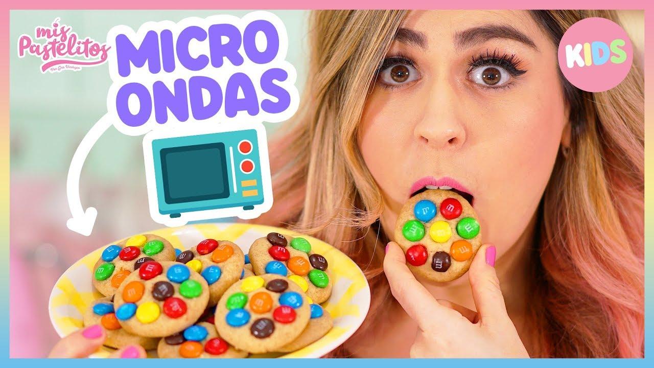 Galletas En El Microondas Mis Pastelitos Kids Youtube