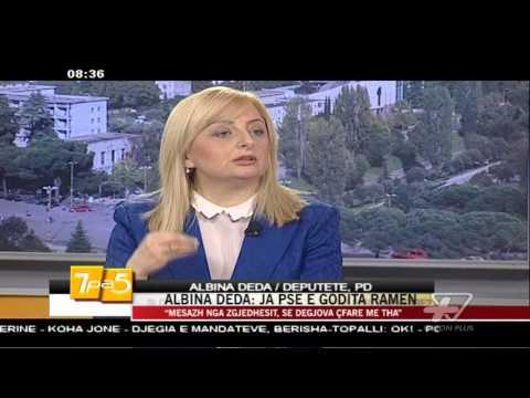Albina Deda: Ja pse e godita Ramën - News, Lajme - Vizion Plus