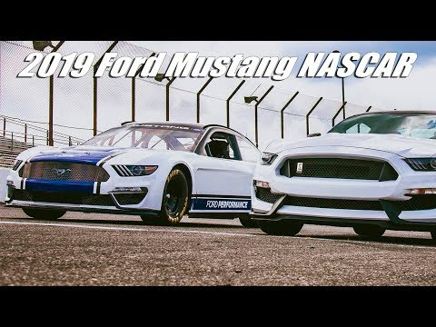 2019 Ford Mustang NASCAR Cup Race Car
