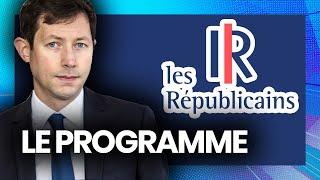 EUROPÉENNES : le programme des Républicains (François-Xavier Bellamy)