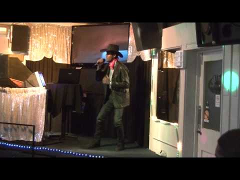 Videendra Miguel - (Achy breaky heart - billy ray cyrus) @ New Zealand Karaoke Competition 2013 HD