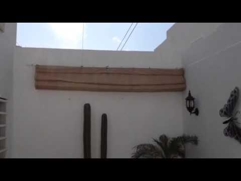 Malla sombra corrediza youtube - Como hacer un toldo casero ...