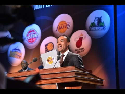 Los Angeles Lakers Get The 2nd Pick In The 2017 NBA Draft!