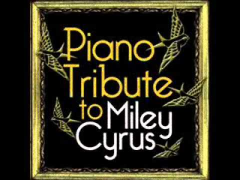 Party In The USA- Miley Cyrus Piano Tribute