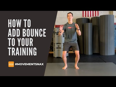 How to Add Bounce to Your Training
