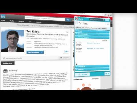 LinkedIn Integration for Salesforce by Ebsta