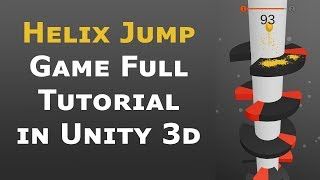 How to make perfect Helix jump game in unity Tutorial Part 1/2