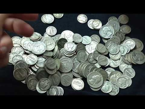 Huge amounts of Junk Silver found for cheap!