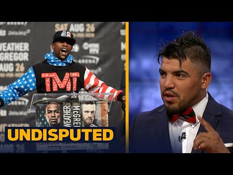 Thumbnail: Victor Ortiz makes his prediction for the Mayweather vs McGregor mega-fight | UNDISPUTED