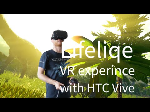 Lifeliqe VR experience in education