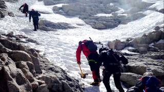 Climbing Mt. Whitney - Mountaineers Route - Apr 2015