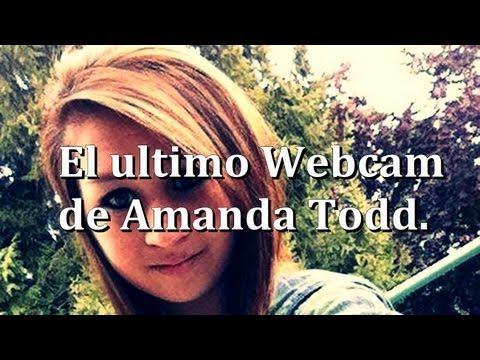 Footage Webcam Amanda Todd's (4 horas antes de su muerte) - Camara Web