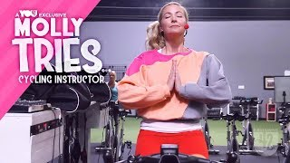 Molly Tries Promo: Cycling Instructor