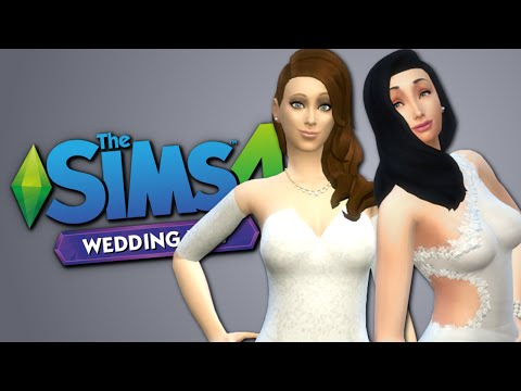 PERFECT WEDDING - The Sims 4 Funny Highlights #50