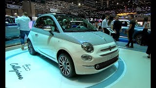 FIAT 500 C COLLEZIONE CABRIOLET NEW MODEL 2018 WALKAROUND + INTERIOR
